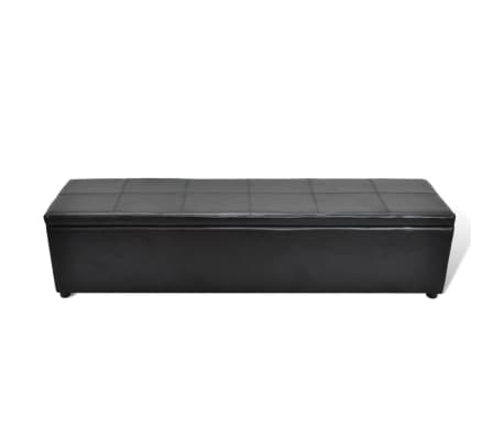 Black Storage Bench Large Size[1/6]