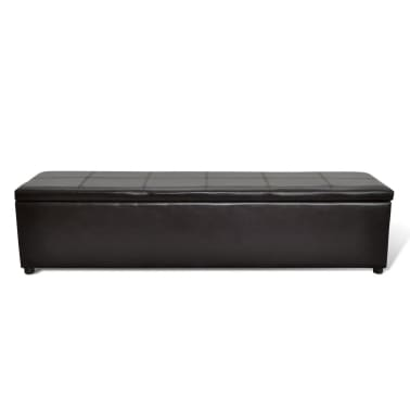 Brown Storage Bench Large Size[1/6]