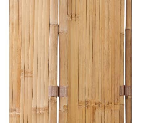 3 Dalių Kambario Pertvara iš Bambuko[5/6]