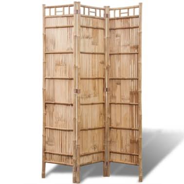 3 Dalių Kambario Pertvara iš Bambuko[2/6]