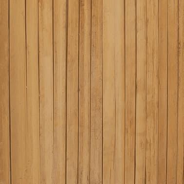 vidaXL 3-Panel Bamboo Room Divider[6/6]