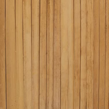 vidaXL 4-Panel Bamboo Room Divider[6/6]