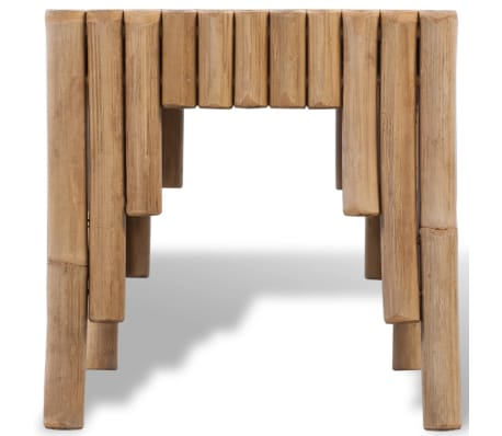 Vidaxl couchtisch bambus g nstig kaufen - Bambus couchtisch ...