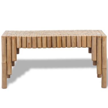 vidaXL Kavos staliukas, bambukinis[2/5]