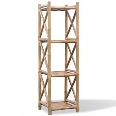 Etagère à 4 paliers en bambou[1/5]
