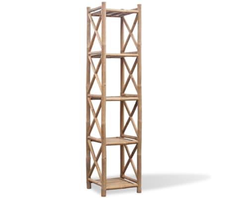 5-Firkantet Lag Bambushylde