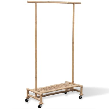 vidaXL Bamboo Clothes Rack[1/6]