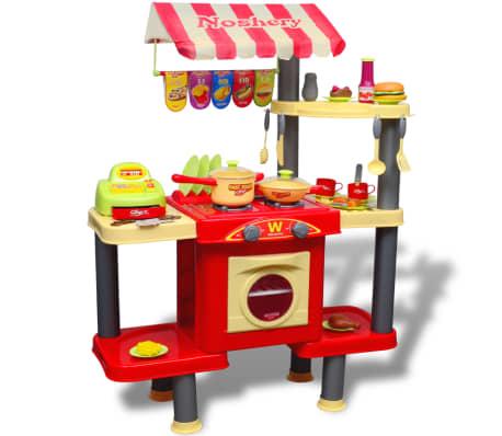 Didelė Vaikiška Žaislinė Virtuvė