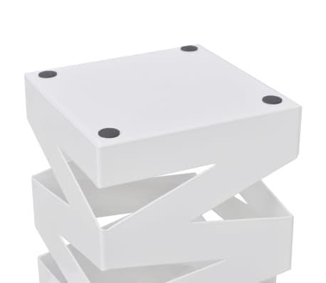 Belo Stojalo za Dežnike in Sprehajalne Palice Jeklo 48,5 cm[3/5]