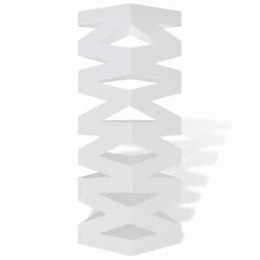 Belo Stojalo za Dežnike in Sprehajalne Palice Jeklo 48,5 cm[2/5]