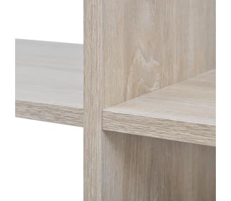 "vidaXL Staircase Bookcase/Display Shelf 55.9"" Oak[5/7]"