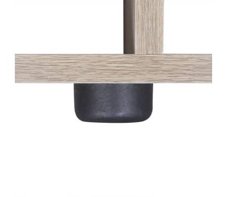 "vidaXL Staircase Bookcase/Display Shelf 55.9"" Oak[6/7]"