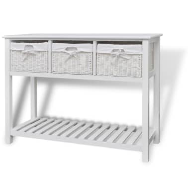 vidaXL Storage Sideboard White[1/7]