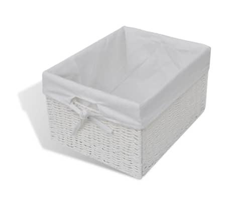 vidaXL Storage Sideboard White[6/7]