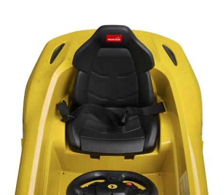 vidaXL Ride-on Car Ferrari F12 Yellow 6 V with Remote Control[7/9]