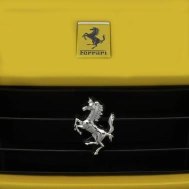 vidaXL Ride-on Car Ferrari F12 Yellow 6 V with Remote Control[4/9]