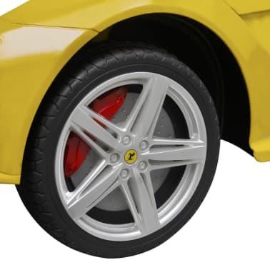 vidaXL Ride-on Car Ferrari F12 Yellow 6 V with Remote Control[5/9]