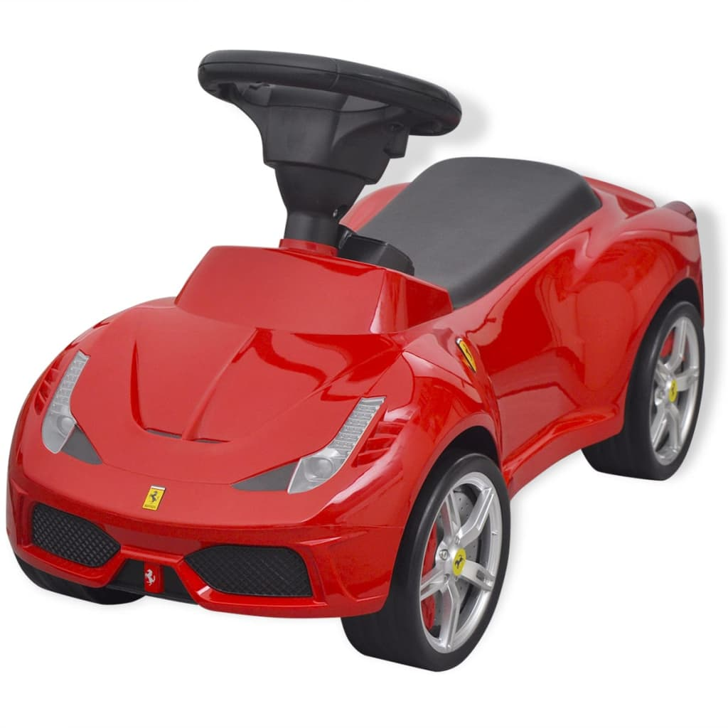 "vidaXL Mașină de jucărie de tip ride-on ""Ferrari 458"", Roșie imagine vidaxl.ro"