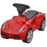 vidaXL Ride-on Car Ferrari 458 Red
