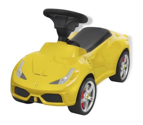vidaXL coche correpasillos Ferrari 458 amarillo[1/6]