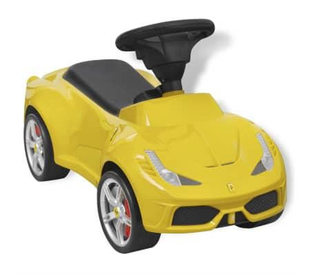 vidaXL Ride-on Car Ferrari 458 Yellow[3/6]