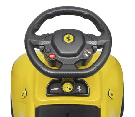 vidaXL coche correpasillos Ferrari 458 amarillo[4/6]