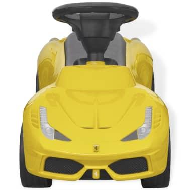 vidaXL coche correpasillos Ferrari 458 amarillo[2/6]