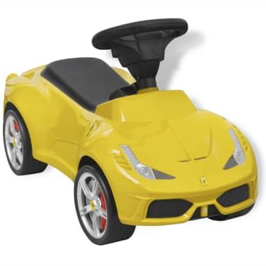 vidaXL coche correpasillos Ferrari 458 amarillo[3/6]