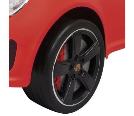 vidaXL coche correpasillos Porsche 911 rojo[5/6]