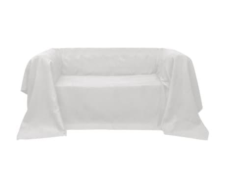 Dīvāna pārvalks, 270 x 350 cm, bēšs zamšs[1/2]
