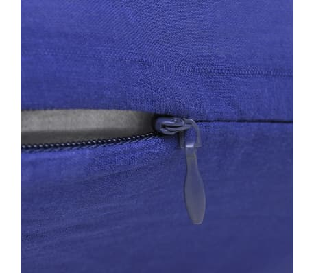 4 blaue kissenbez ge baumwolle 40 x 40 cm g nstig kaufen. Black Bedroom Furniture Sets. Home Design Ideas