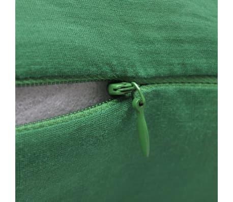4 gr ne kissenbez ge baumwolle 40 x 40 cm g nstig kaufen. Black Bedroom Furniture Sets. Home Design Ideas