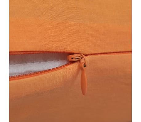 4 orange kissenbez ge baumwolle 50 x 50 cm g nstig kaufen. Black Bedroom Furniture Sets. Home Design Ideas