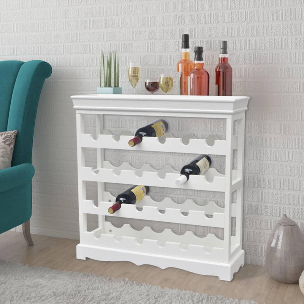 """vidaXL Wine Cabinet """"Abreu"""" White"""