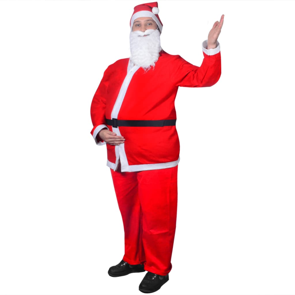 vidaXL Julenisse Julekostyme Sett