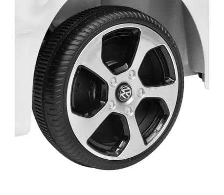 vidaXL Vaikiškas Automob. VW Golf GTI 7, Baltas, 12 V su Nuot. Valdymu[8/9]