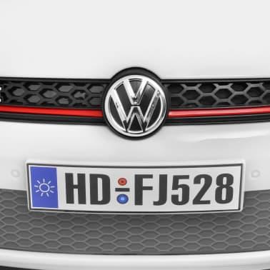 vidaXL Vaikiškas Automob. VW Golf GTI 7, Baltas, 12 V su Nuot. Valdymu[6/9]