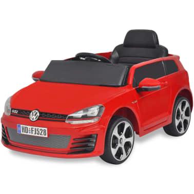 Vidaxl Elektrische Auto Vw Golf Gti 7 Rood 12 V Met