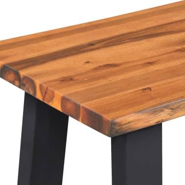 "vidaXL Solid Acacia Wood Bench 63""[5/6]"