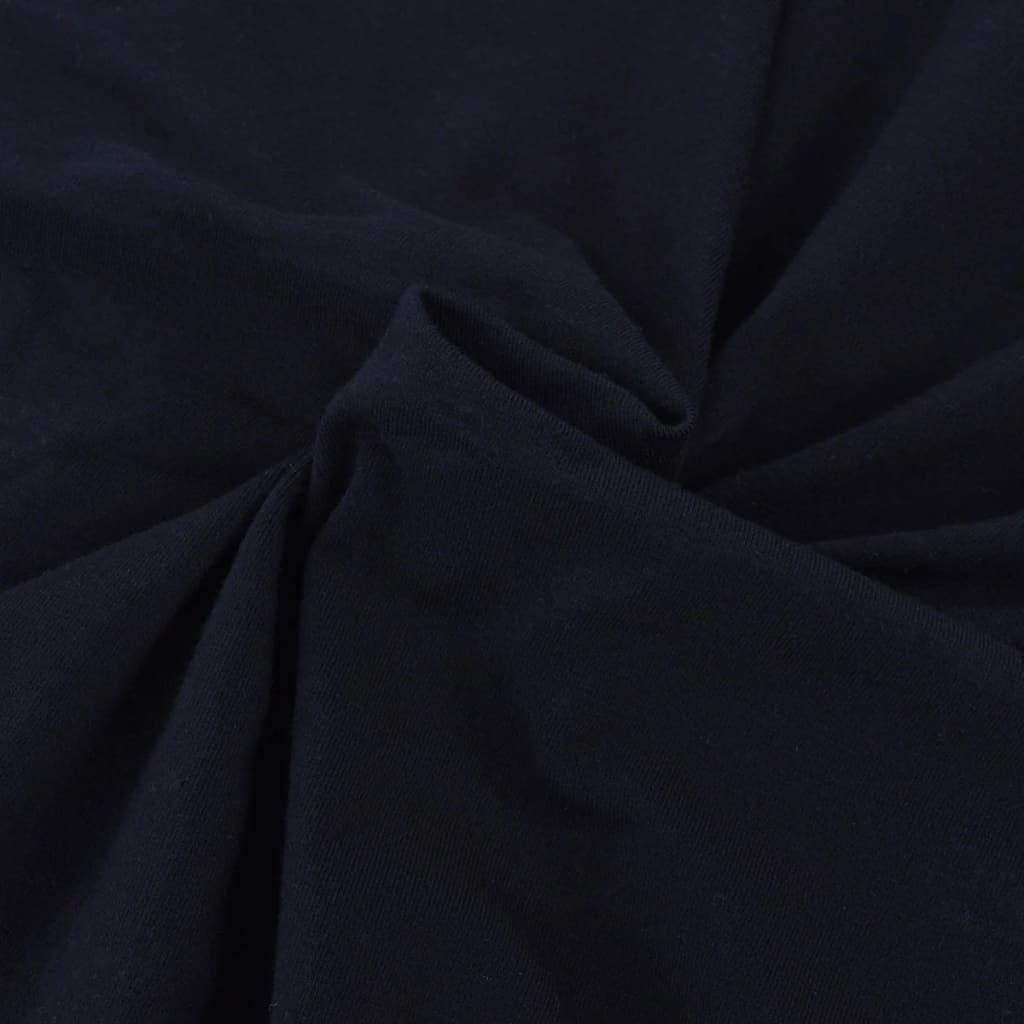 Elastyczny pokrowiec na kanapę, z dżerseju, czarny