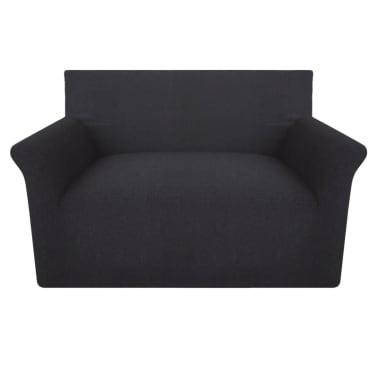 fb705ccd2c62 Olcsó vidaXL rugalmas pamutjersey kanapé huzat antracit szín | vidaXL.hu
