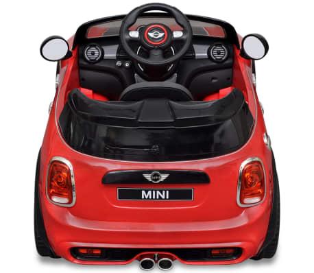 acheter vidaxl petite voiture cooper s rouge pas cher. Black Bedroom Furniture Sets. Home Design Ideas