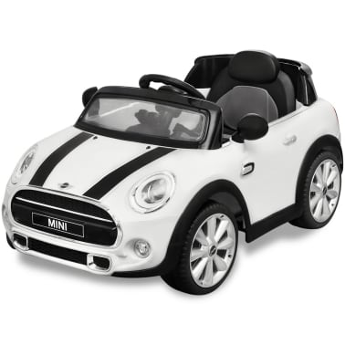 Vidaxl Samochód Jeździk Mini Cooper S Biały Sklep Internetowy