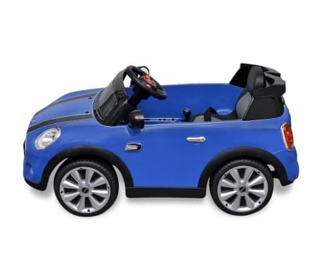vidaxl elektrische speelgoedauto mini cooper s blauw online kopen. Black Bedroom Furniture Sets. Home Design Ideas