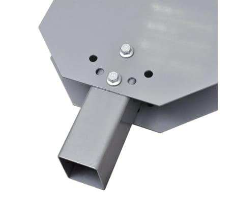 "vidaXL Universal Snow Plough Blade 39.4""x17.3""[5/6]"