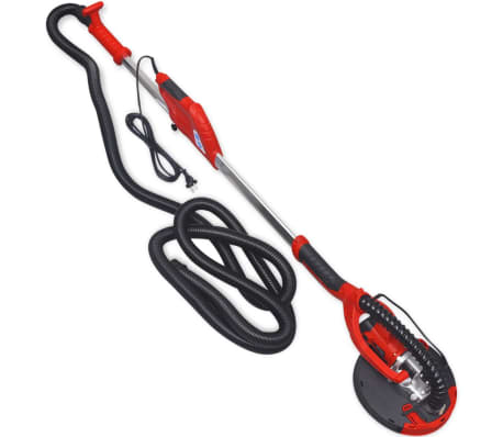 vidaXL Lixadeira drywall sander, vermelho 750 W[2/6]