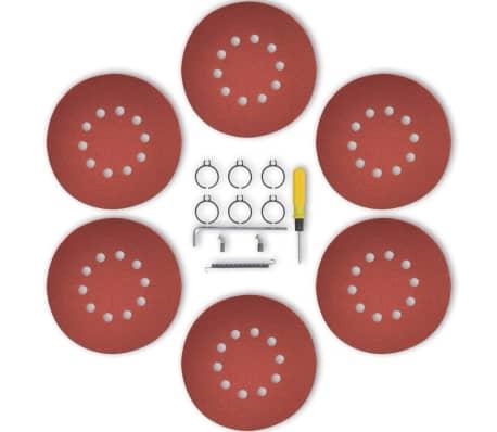 vidaXL Lixadeira drywall sander, vermelho 750 W[6/6]