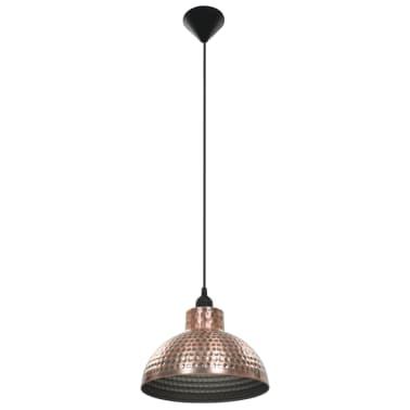 vidaXL lámparas colgantes de techo semiesféricas color cobre 2 uds[3/10]