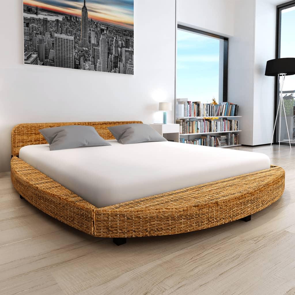 vidaXL Cadru de pat, 180 x 200 cm, abaca poza vidaxl.ro