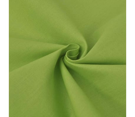 vidaXL Cotton Fabric 1.45x20 m Green[1/2]
